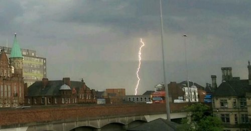 Weather warning issued with thunderstorms expected on Teesside