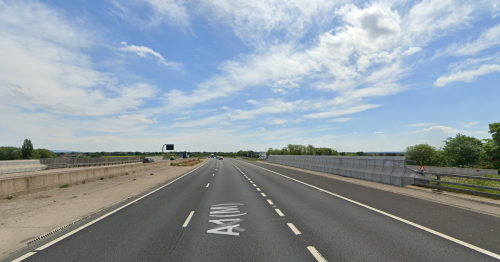Woman in 70s dies and man arrested after A1 (M) crash