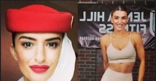 Jenna goes from glam cabin crew to £1 a day fit camp instructor