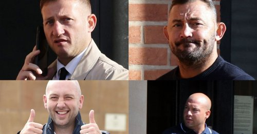 Sentencing date for drug conspirators Watson, Beazley Costello and Wright