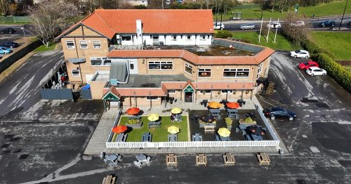 Middlesbrough pub shows off revamped garden ahead of reopening