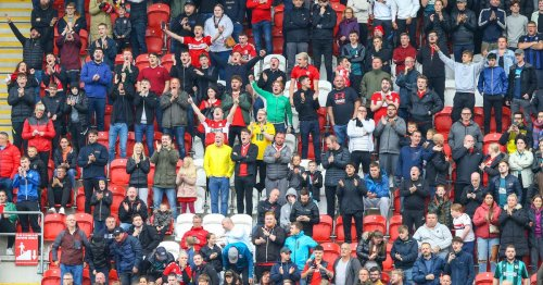 The sights & sounds of the 'amazing' Boro fans at Rotherham