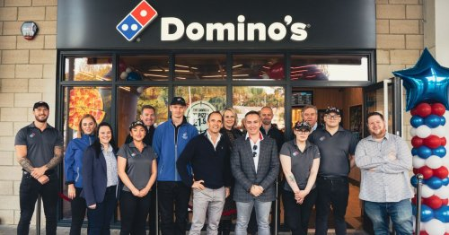 In car delivery service launched as Teesside's latest Domino's opens