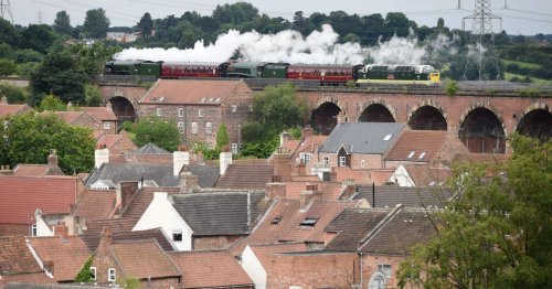 Iconic Flying Scotsman on tour - here's when and where in our region