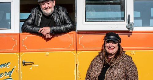 Johnny Vegas opens quirky glamping site in North Yorkshire