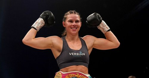'Hartlepool is proud': Praise for Savannah Marshall as she retains world title