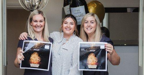 Stockton beauty clinic 'on cloud nine' after prestigious award win