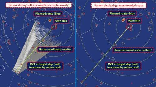 MOL Testing Autonomous Collision Avoidance Tech