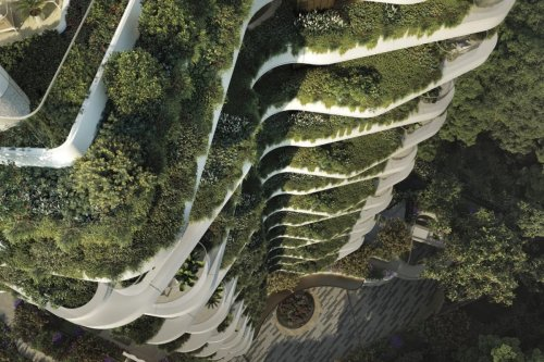 New Butterfly Residential Tower in Singapore - GCO Portal
