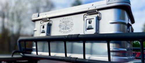 Atlantic British Aluminum Travel Cases: Vintage-Inspired