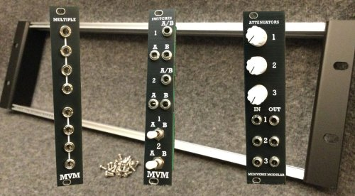 Midiverse Modular launches with 3 Eurorack modules and a frame - gearnews.com