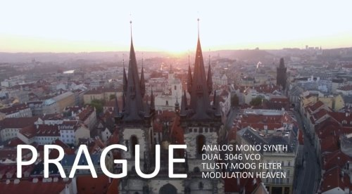 AMSynths teases The Prague: Dual Oscillator Analog Mono Synth