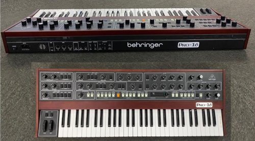 Behringer adds the Pro-16 to its growing list of completed prototypes