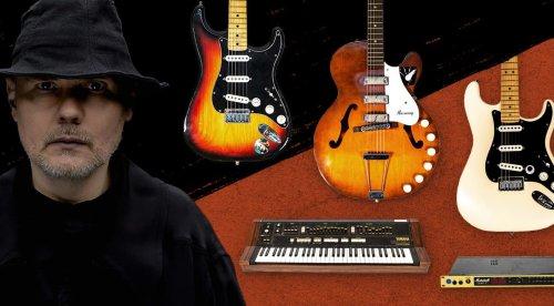 Billy Corgan (The Smashing Pumpkins) verkauft Gitarren, Synthesizer und mehr