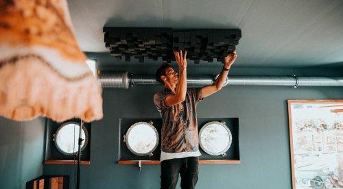 Das Hausboot: Fynn Kliemann optimiert mit t.akustik den Studioraum