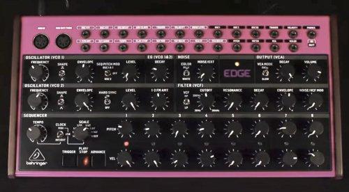 Behringer Edge - Behringers Antwort auf DFAM - 2-VCO-Synthesizer mit Sequencer - gearnews.de