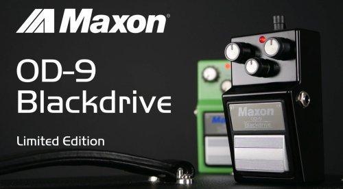 Maxon OD-9 Blackdrive: Limitierte Halloween-Edition
