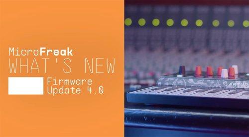 Arturia Microfreak 4.0: Update bringt Wavetable-Import und mehr