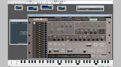 Die kostenlose Software DSP56300 emuliert digitale Synthesizer-Klassiker