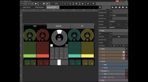 Hexler renoviert TouchOSC: modularer Controller-Editor für MIDI und OSC | gearnews.de