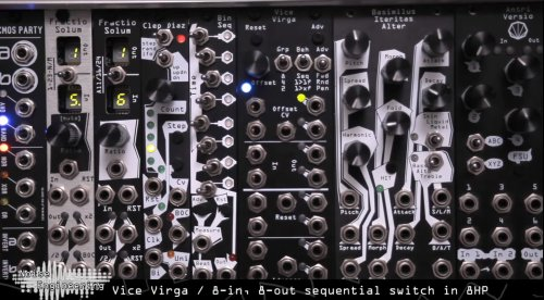 Superbooth 21: Noise Engineering Vice Virga Sequential Switch