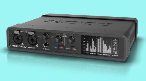 MOTU UltraLite-mk5 Audiointerface: USB-C, OLED-Display und mehr