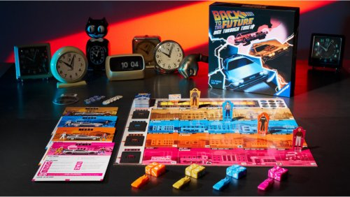 Go Back in Time with the BACK TO THE FUTURE Dice Game | Geek and Sundry
