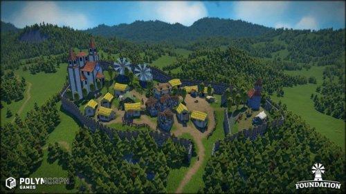 Foundation : le city-builder médiéval sur kickstarter