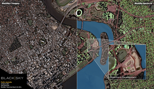 BlackSky's latest satellite delivers first images (and AI insights) hours after launch