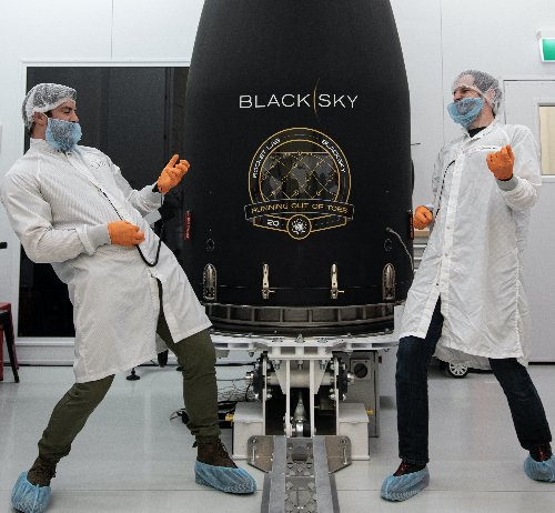 With assists from Seattle, satellite launch will boost BlackSky's geospatial intelligence network