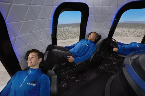 Blue Origin puts its first passenger seat on suborbital spaceship up for auction