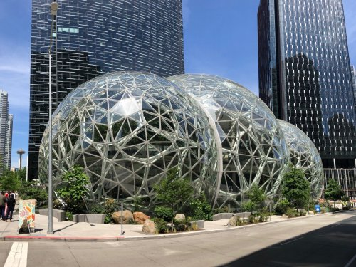 Amazon crushes earnings estimates with $108.5 billion in Q1 revenue, up 44%, profits of $8.1 billion