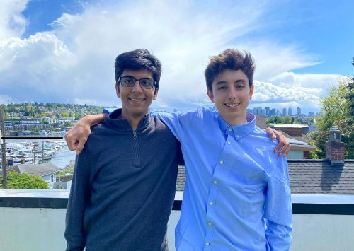 Seattle teen entrepreneurs sell their health-tech startup and take a break from college