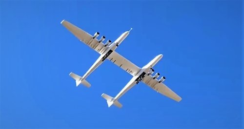 'We are airborne!' Stratolaunch sends the world's biggest plane on second test flight