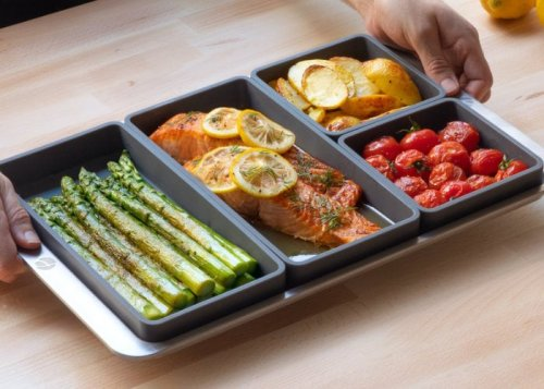 Cheat Sheets easy sheet pan cooking system - Geeky Gadgets