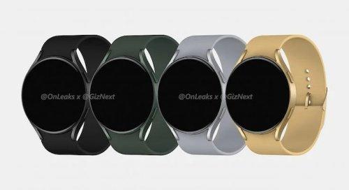 Samsung Galaxy Watch Active 4 design leaked
