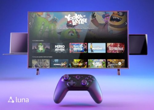 Amazon Luna game streaming service for Prime Members