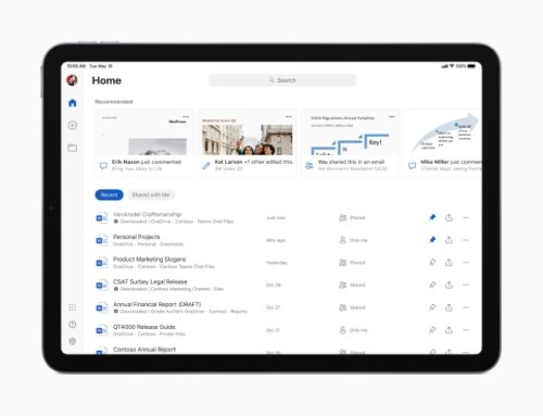 Microsoft Office update for iPad brings new features - Geeky Gadgets