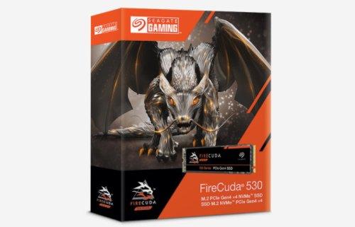 Seagate FireCuda 530 M.2 NVMe Gen 4 SSD drive