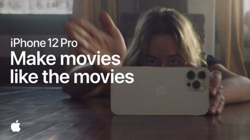 iPhone 12 Pro Make movies like movies promo video released - Geeky Gadgets