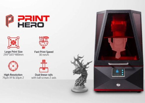 PrintHero large 4K SLA 3D Printer hits Kickstarter from $999 - Geeky Gadgets