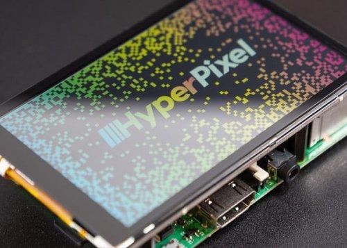 Raspberry Pi HyperPixel 4.0 high resolution touchscreen display - Geeky Gadgets