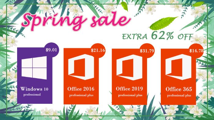 Big Surprise: Windows 10 pro key @$9.01, and Office 2019 Pro @ $31.79 - Geeky Gadgets