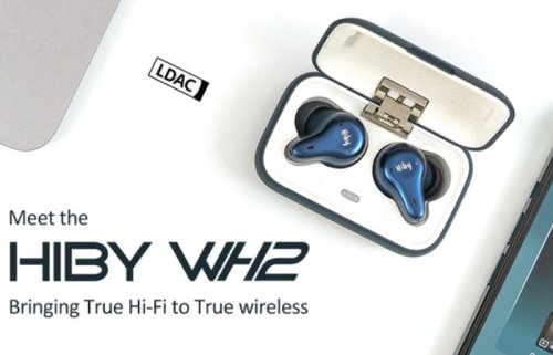 HiBy WH2 True wireless earphones with LDAC