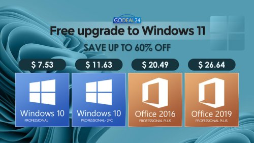 Get Windows 10 for $7.5 and ready to upgrade to Windows 11 for Free