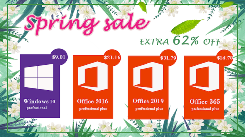 Sales Promotion: Windows 10 pro key @$9.01, and Office 2019 Pro @ $31.79 - Geeky Gadgets