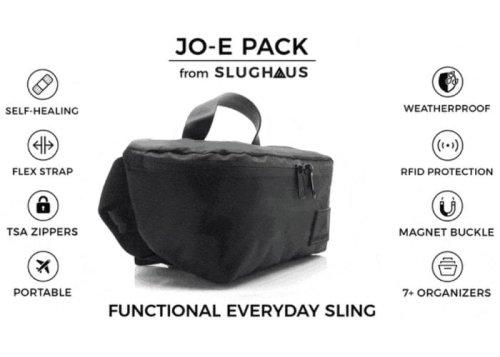 JO-E Pack EDC multi-functional sling bag hits Kickstarter - Geeky Gadgets