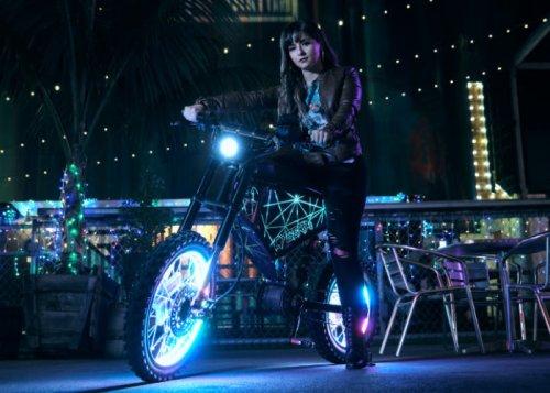 XION CyberX 50mph cyberpunk electric bike - Geeky Gadgets