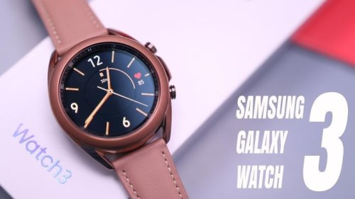 Samsung Galaxy Watch 3 shown off on video again - Geeky Gadgets