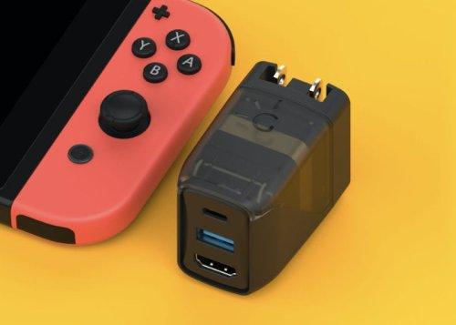 GENKI pocket Nintendo Switch dock - Geeky Gadgets